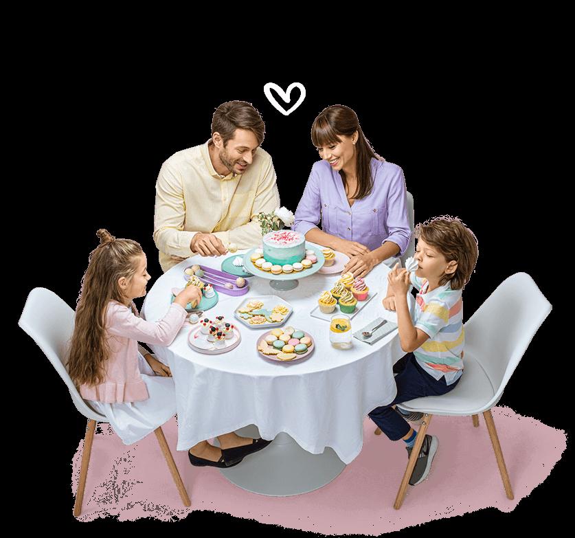Bucuroşi să adunăm familia în jurul mesei