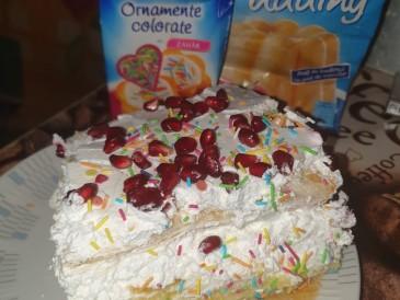 Prăjitura pregătită de ELISAVETA