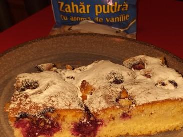 Prăjitura pregătită de Aurelia