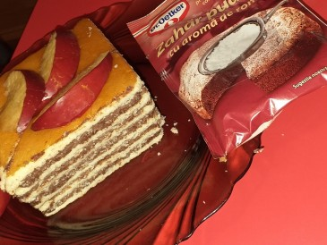 Prăjitura pregătită de Ionel