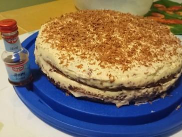 Prăjitura pregătită de Ambra