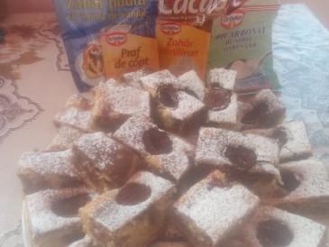 Prăjitura pregătită de Erzsebet