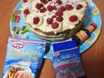 Prăjitura pregătită de Monica