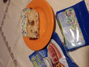 Prăjitura pregătită de Eniko