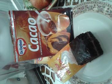 Prăjitura pregătită de Adriana