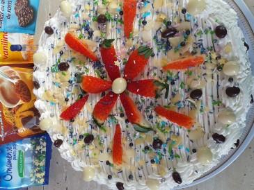 Prăjitura pregătită de Georgeta Ileana