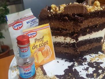 Prăjitura pregătită de Maria Raluca