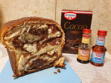 Prăjitura pregătită de Corina