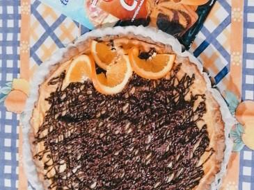 Prăjitura pregătită de Alexandra