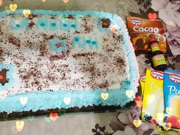 Prăjitura pregătită de Ionelia