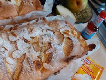 Prăjitura pregătită de Sinona