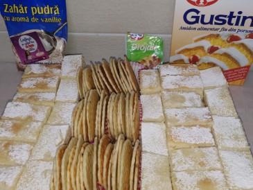 Prăjitura pregătită de Mirela