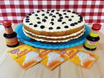 Prăjitura pregătită de Stefanut