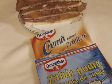 Prăjitura pregătită de Ildiko