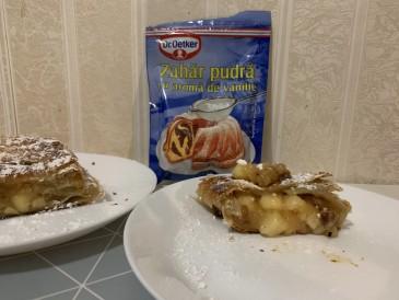 Prăjitura pregătită de Iulia