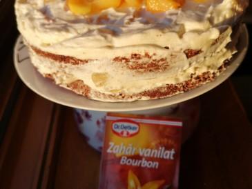 Prăjitura pregătită de Liliana