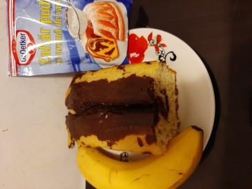 Prăjitura pregătită de Doina