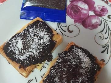 Prăjitura pregătită de Narcis