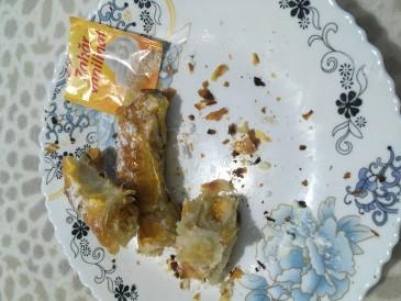 Prăjitura pregătită de Mariana