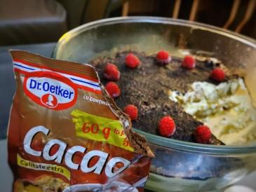 Prăjitura pregătită de Sanda