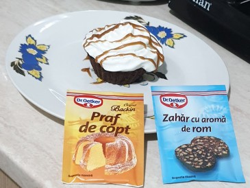 Prăjitura pregătită de Anamaria