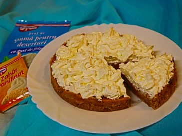 Prăjitura pregătită de Stefan