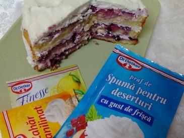 Prăjitura pregătită de Ioan