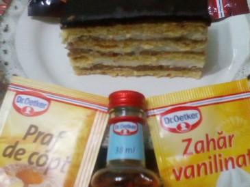 Prăjitura pregătită de Anisoara