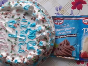 Prăjitura pregătită de Alina Marcela