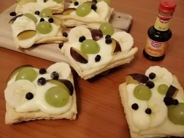 Prăjitura pregătită de Agnes
