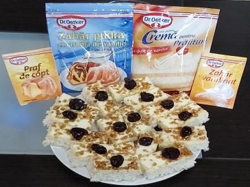 Prăjitura pregătită de Emilia
