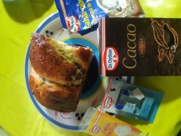 Prăjitura pregătită de Valentina