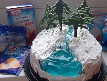 Prăjitura pregătită de Marthi