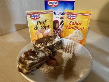 Prăjitura pregătită de Adél