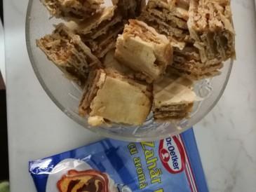 Prăjitura pregătită de Ioana Carmen