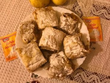 Prăjitura pregătită de Luiza