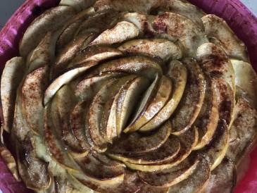 Prăjitura pregătită de Onina