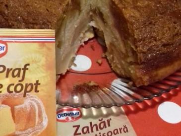 Prăjitura pregătită de Georgiana