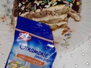 Prăjitura pregătită de Mihaela