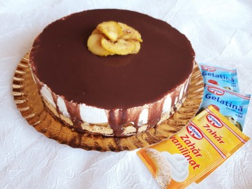 Prăjitura pregătită de Angela Maria