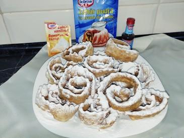 Prăjitura pregătită de Irina