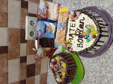 Prăjitura pregătită de Veronica