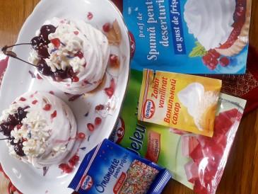 Prăjitura pregătită de Virginia