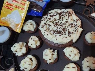 Prăjitura pregătită de Marin