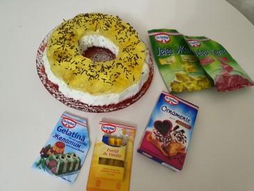 Prăjitura pregătită de Ina