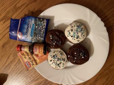 Prăjitura pregătită de Nina