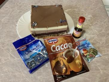 Prăjitura pregătită de Vasile