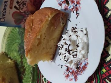 Prăjitura pregătită de Gabriela