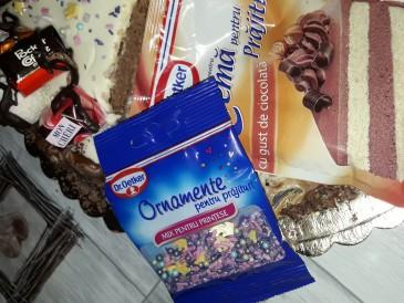 Prăjitura pregătită de Diana