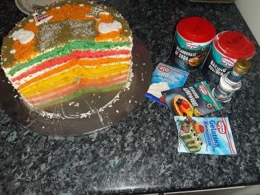 Prăjitura pregătită de Mamulat